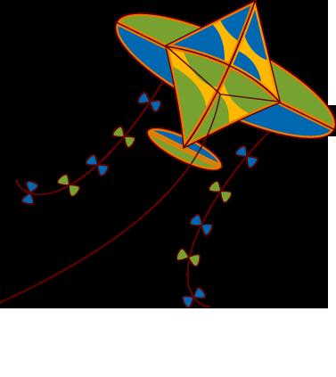 377x423 Kite Clipart Saranggola
