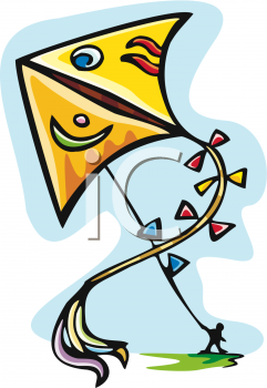 241x350 Royalty Free Kites Clipart