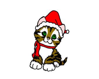 340x270 Kitten Clip Art Etsy