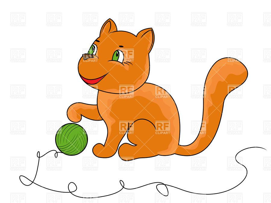 900x675 Kitten Clipart Funny Cat