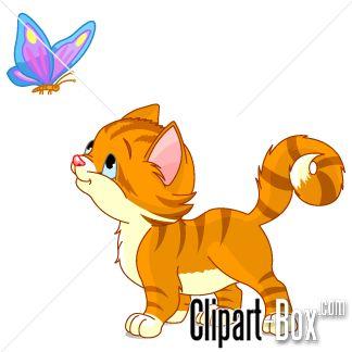 324x324 Kitten Clip Art