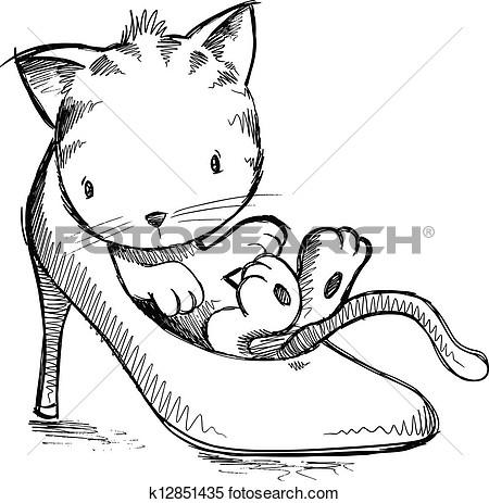 450x463 Kitten Clip Art