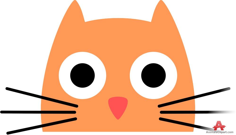 999x574 Kitten Face Clipart