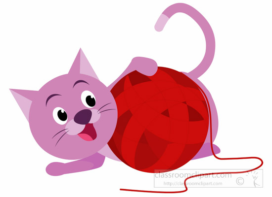 550x400 With Balls Kitten Clipart, Explore Pictures