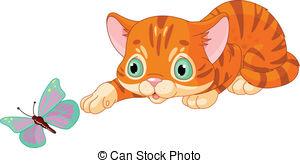 300x163 Kittens Clip Art