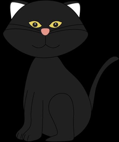 400x476 Black Cat Clipart Png