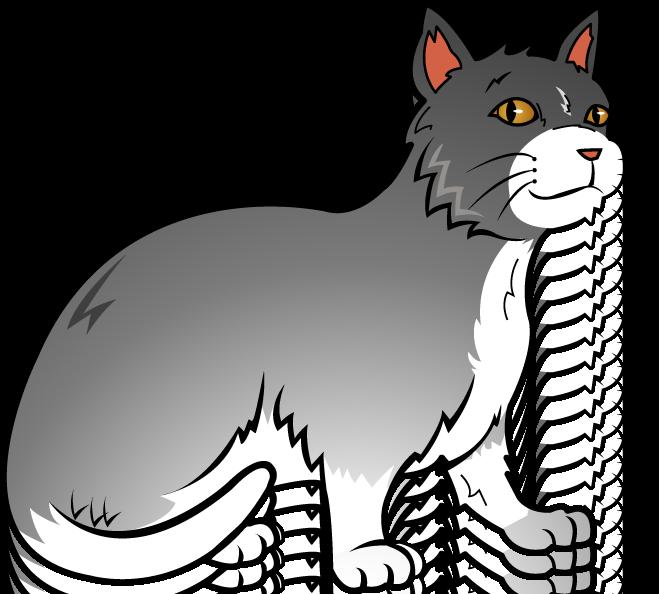 659x594 Kitten Clipart Gray Cat
