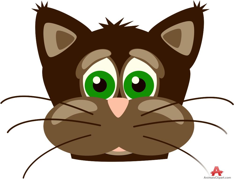 999x766 Panther Kitten Clipart
