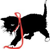 165x162 Black Kitten Clipart