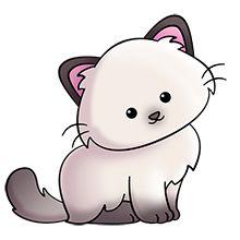 220x220 Kitty Cat Clip Art
