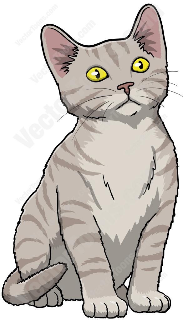 585x1024 Vector Kitten Clipart, Explore Pictures