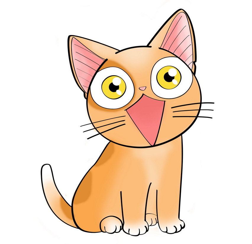 852x828 Anime Clipart Kitten