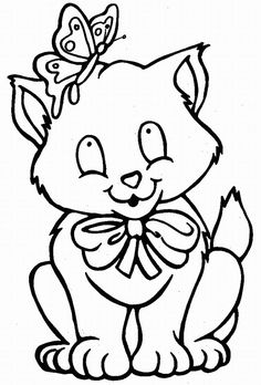 236x348 Cats And Kitten Coloring Pages 34 Kids Cat, Free