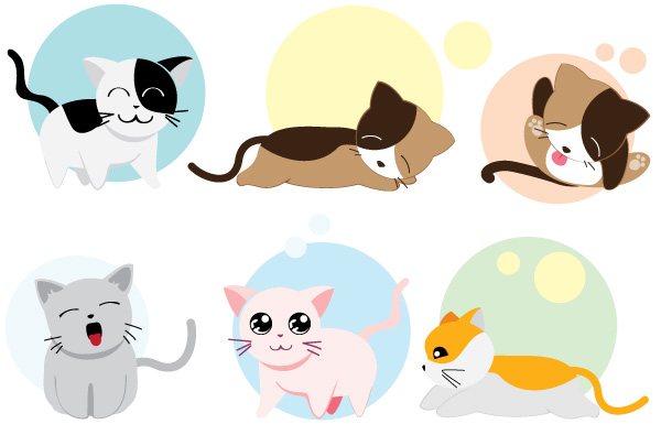 600x405 Pictures Of Cartoon Kittens