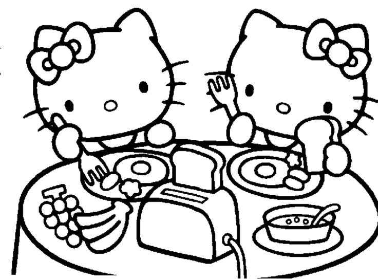 Kitty Coloring Pages Free Download Best Kitty Coloring