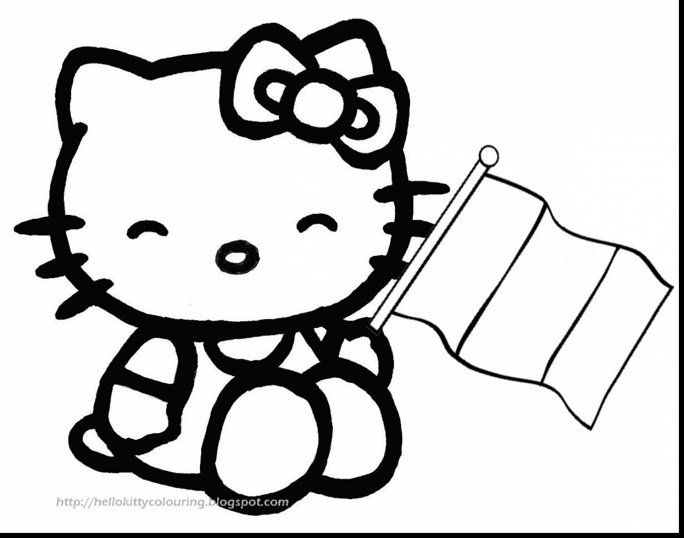 1344x1058 Impressive Hello Kitty Coloring With Hello Kitty Christmas