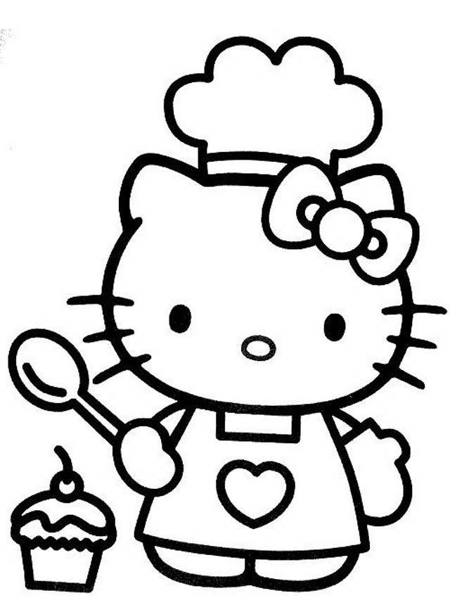 Kitty Coloring Pages | Free download best Kitty Coloring Pages on ...