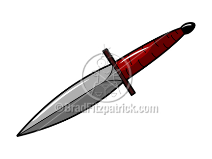 432x324 Royalty Free Knife Stock Illustration Cartoon Knife