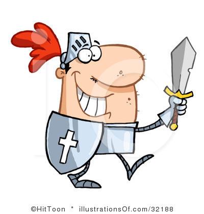 400x420 Knight Clipart Castle Guard