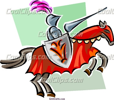 375x328 Knight Clipart Medieval Character
