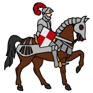 300x300 Knight Clipart Medieval Knight