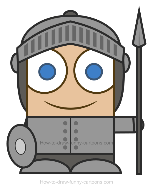 520x649 Knight Clipart Simple