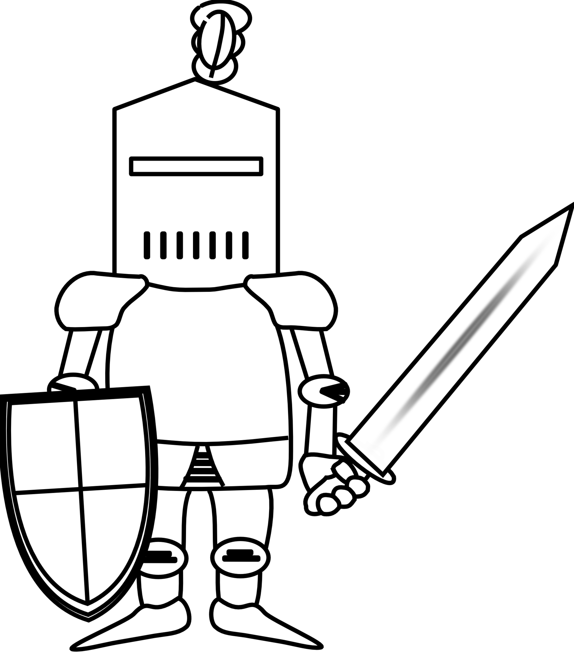 1871x2128 Knight Clip Art In Vector Or Format Free