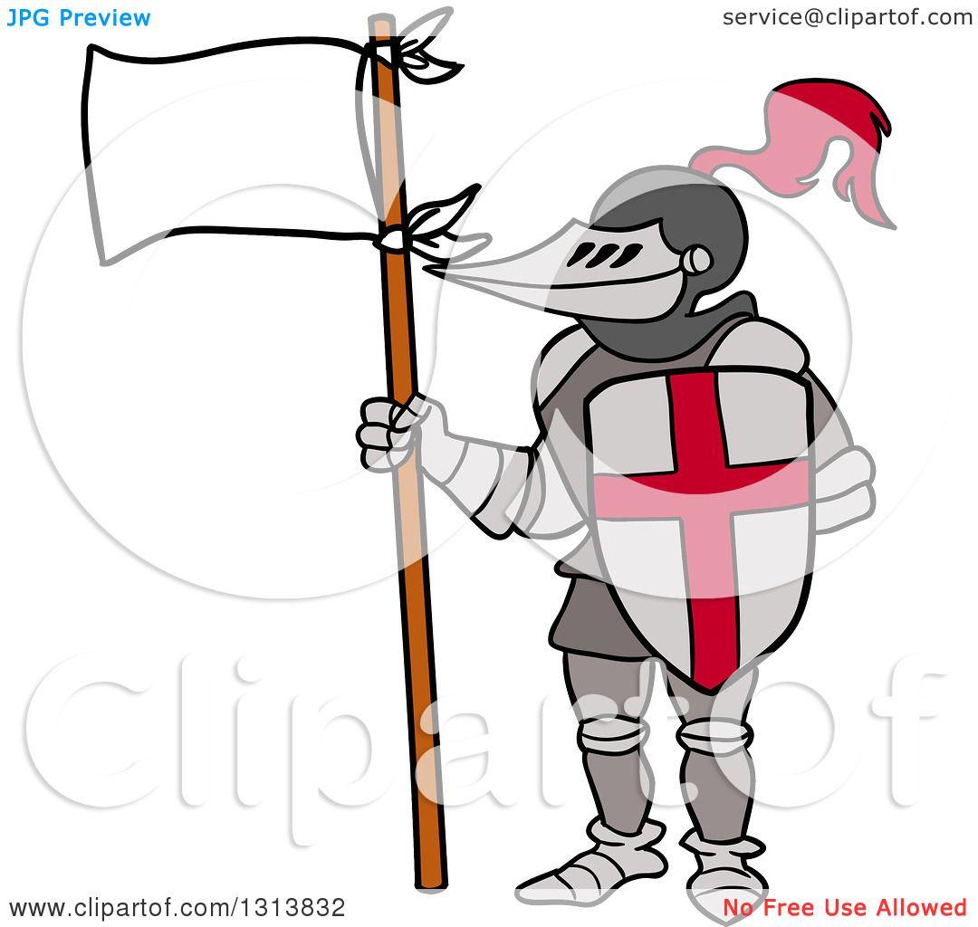 1080x1024 Knight Clipart Flag