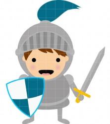 222x250 Knight Clipart Cute Knight