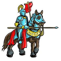 236x236 Medieval Knight Cartoon Medieval Ages Knights Vector