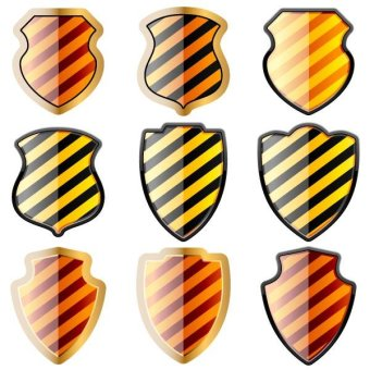 340x340 Knight Shield With Lion Free Vector 123freevectors