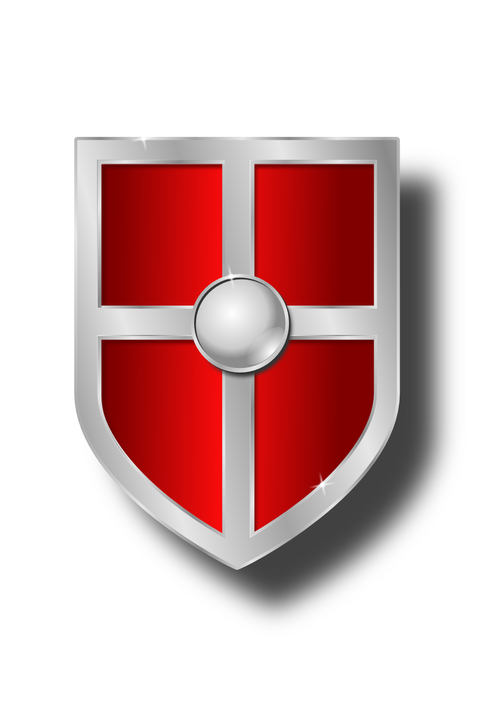 1000x1414 Knight Shield Clipart