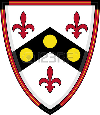 390x450 Medieval Knights Lion Shield Royalty Free Cliparts, Vectors,