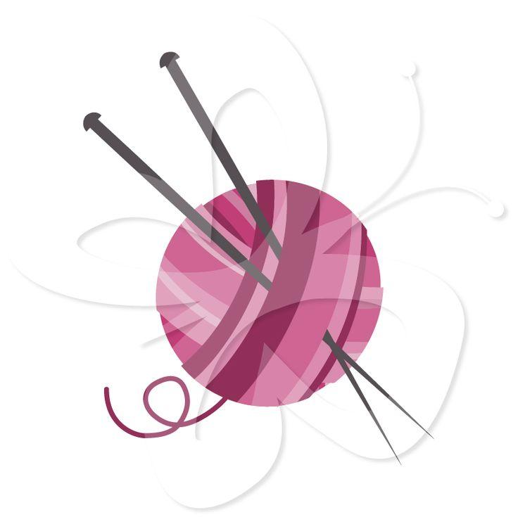 Knitting Needles Clipart