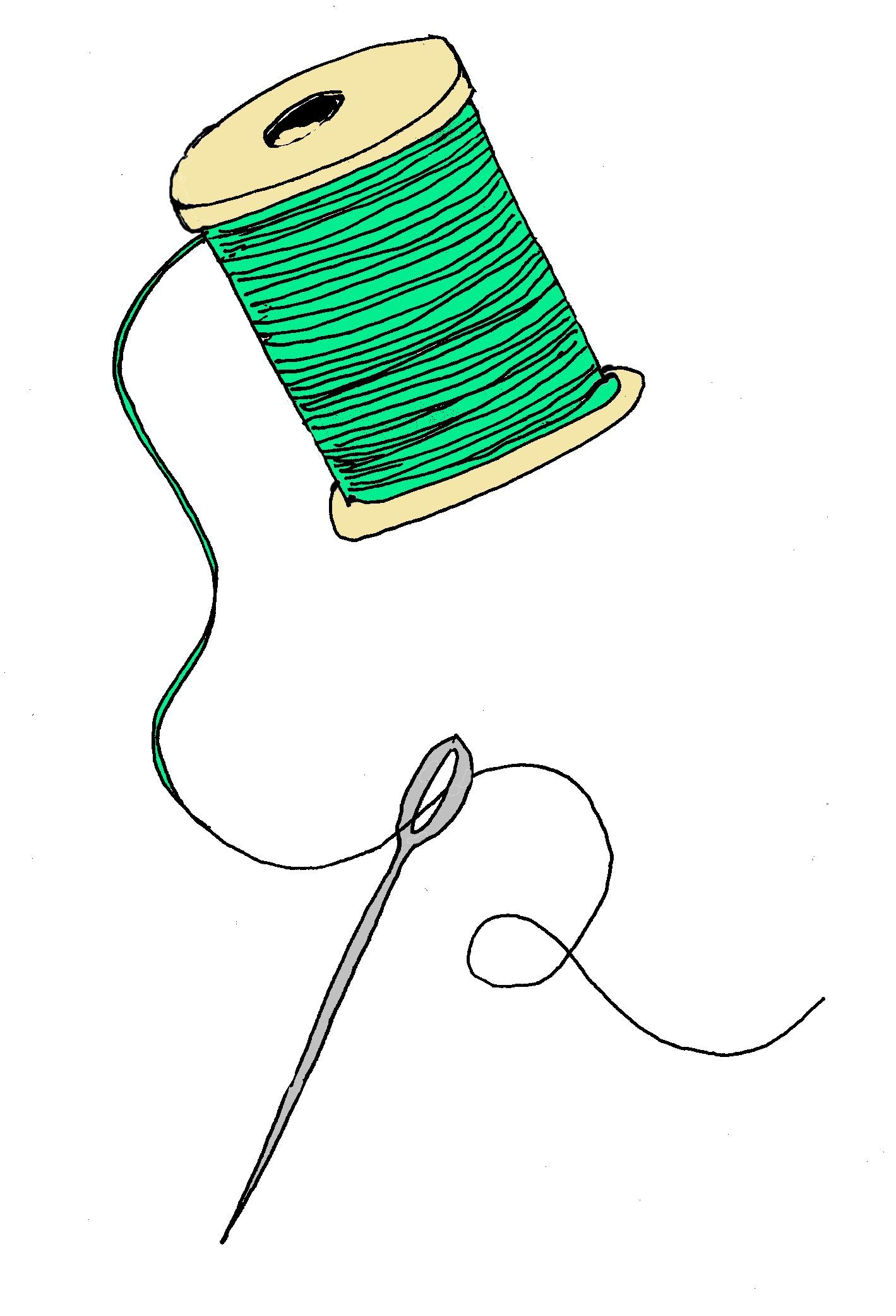 1419x2083 Free Clipart Knitting Needles And Sewing Items