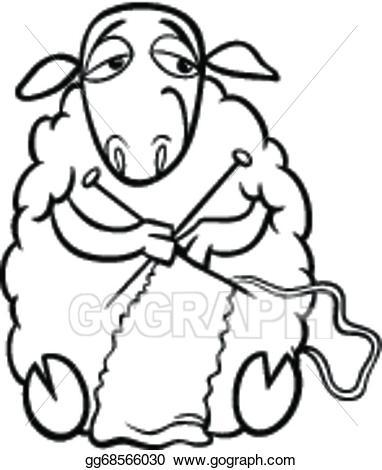 382x470 Knitting Needles Clip Art