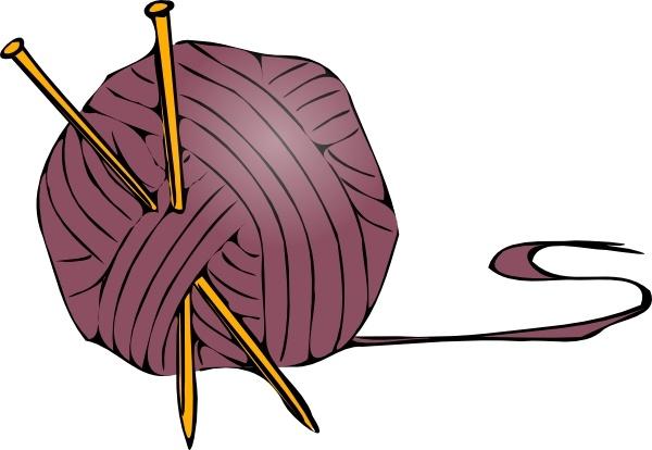 600x414 Knitting Yarn Needles Clip Art Free Vector In Open Office Drawing