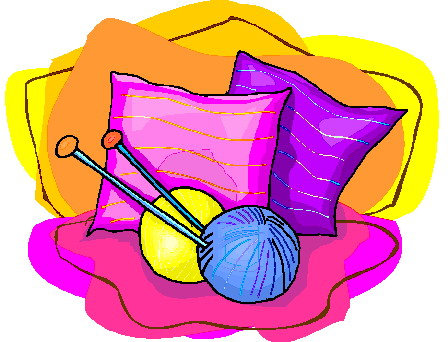448x342 Blanket Clipart Knitting Group