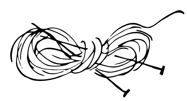 713x388 Yarn Png Black And White Transparent Yarn Black And White.png