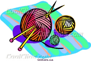 300x201 Yarn With Knitting Needles Vector Clip Art