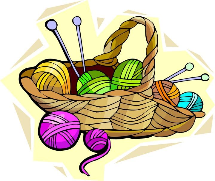 720x609 Crochet Hooks Or Knitting Needles Clipart