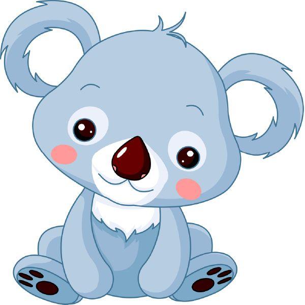 600x600 Wildlife Clipart Baby Koala