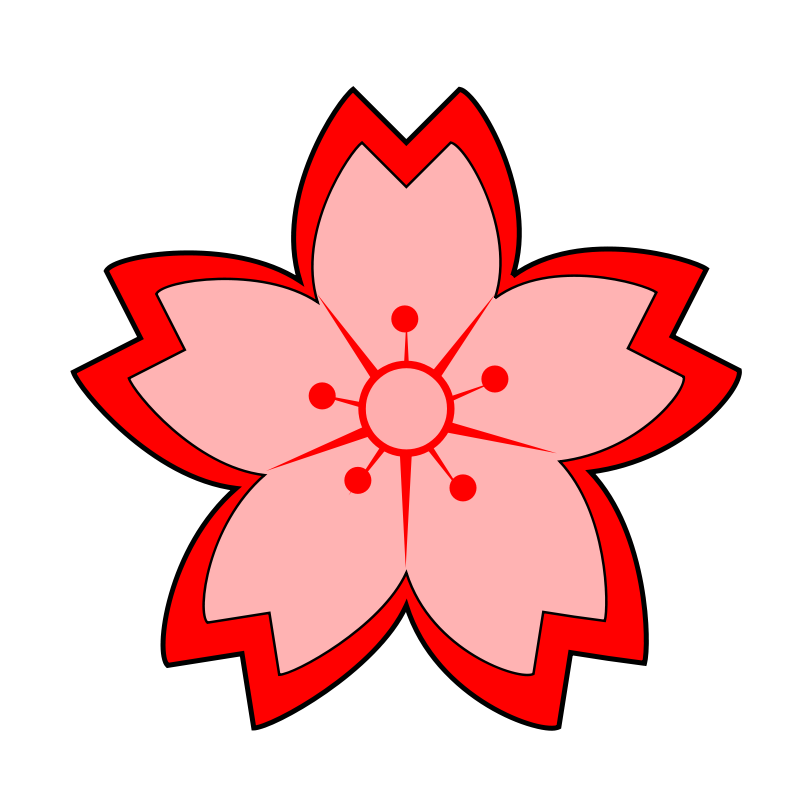 800x800 Korean Flower Clipart