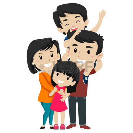 450x450 Korean Clipart Korean Family