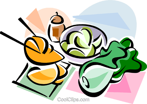 480x340 Korean Cuisine Kimchi Royalty Free Vector Clip Art Illustration