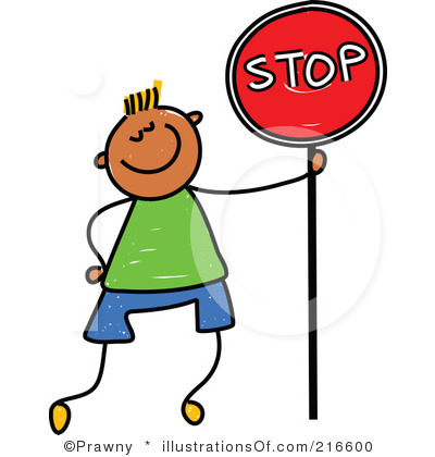 400x420 Stop Sign Clip Art