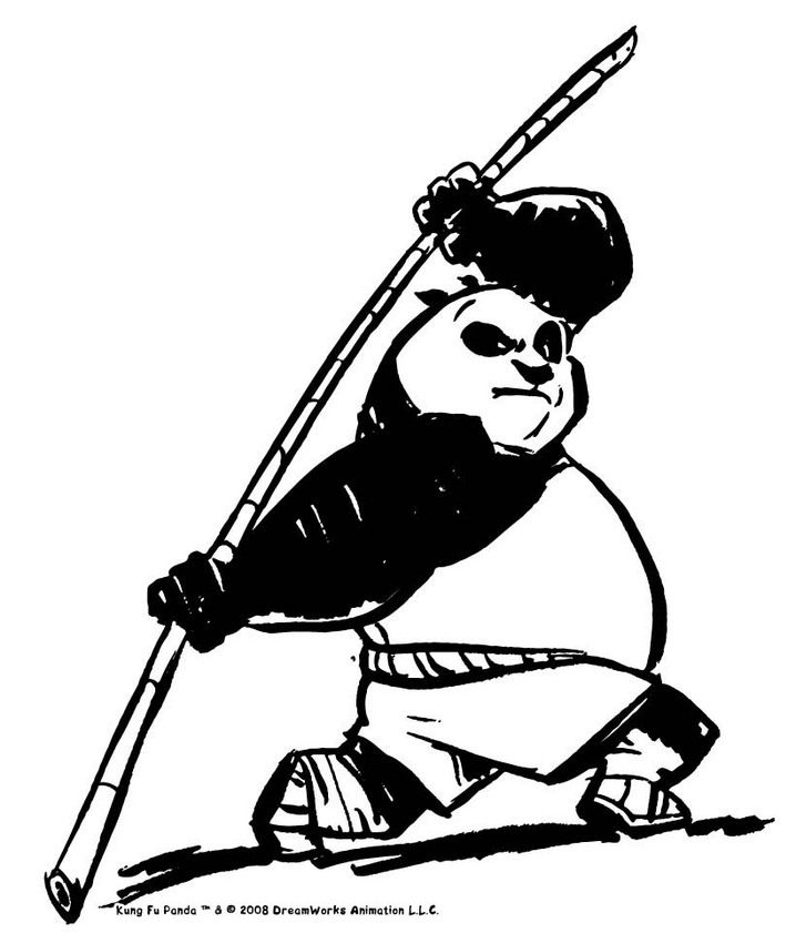 718x850 Giant Panda Coloring Page Many Interesting Cliparts