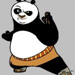 150x150 Kung Fu Panda Clipart Kung Fu Panda Clip Art Images Cartoon Clip