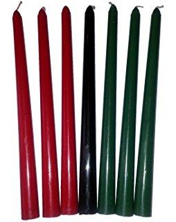 254x320 Set Of Kwanza Kwanzaa Candles Home Amp Kitchen
