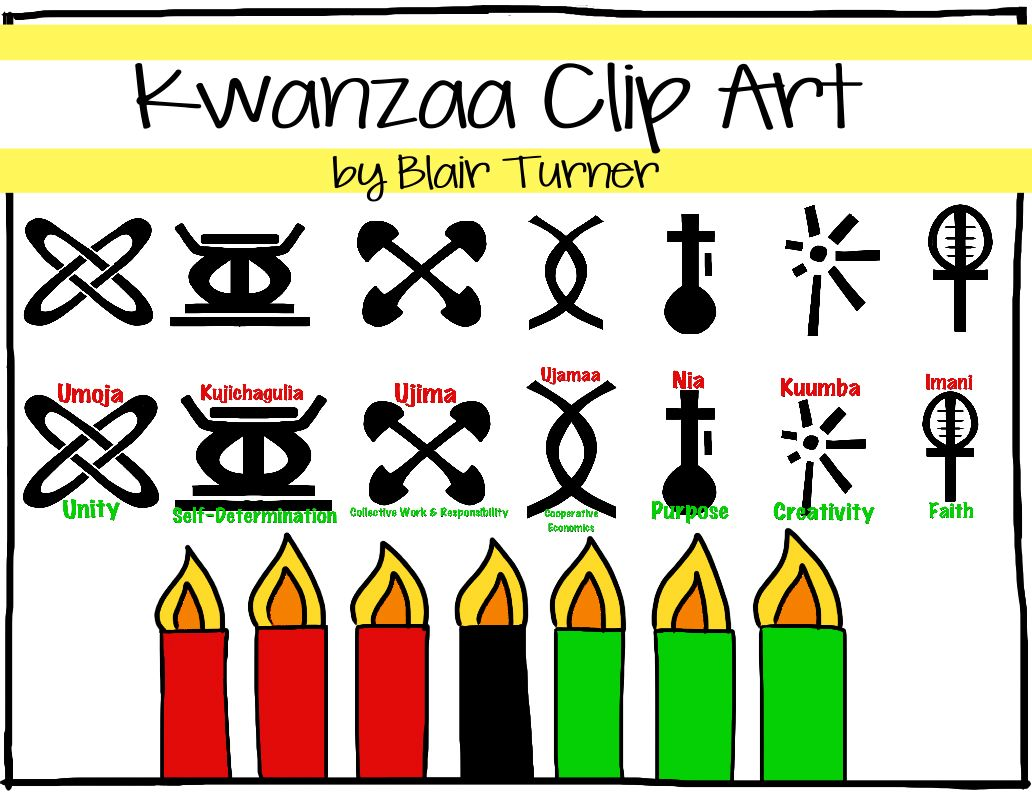 1032x792 Image Search Included 3 Frames 7 Symbols Of Kwanzaa 7 Principles
